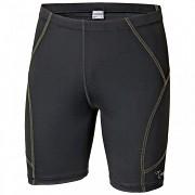 PROGRESS Raptim Shorts - černá/žluté prošití