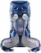 Turistický batoh DEUTER Futura Vario 45 + 10l SL - ukázka zádového systému
