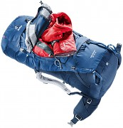 Turistický expediční batoh DEUTER Aircontact 45 + 10l - midnight/navy