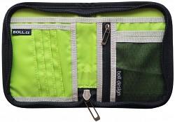 Peněženka BOLL Zip Wallet - black/lime