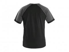 Pánské trikoCXS Oliver - černá/šedá