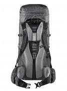 Turistický expediční batoh DEUTER Aircontact Lite 50 + 10l graphite/black