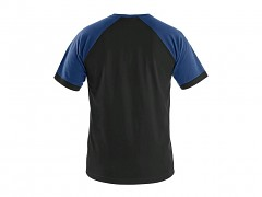 Pánské triko CXS Oliver - černá/modrá