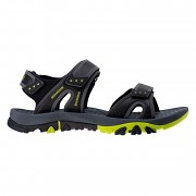Pánské sandále ELBRUS LIDDEN - black/dark grey/lime