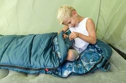 Akční set - dětský spací pytel COLEMAN Frisco Mummy + zdarma batoh COLEMAN Magi City 15