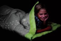 Dětský dekový spací pytel COLEMAN Youth Glow In The Dark Rectangular