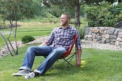Skládací židle COLEMAN KickBack Chair Red