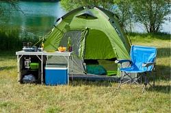 Skládací stůl a úložný prostor COLEMAN 2in1 Camp Table & Storage