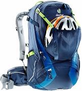 DEUTER Trans Alpine 30 - možnost uchycení helmy
