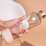 Skleněná láhev EQUA Metallic Rose Gold 550 ml
