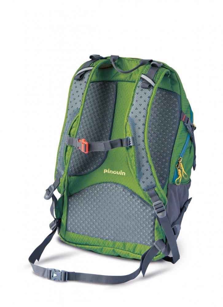 ... Městský batoh PINGUIN Integral 30 l - ukázka zádového systému zeleného  provedení bc864dad94