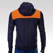 Pánská fashion bunda OMBRE Ralph - oranžová