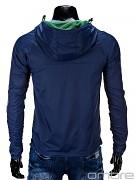 Pánská fashion bunda OMBRE Sage - tmavě modrá