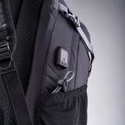 Městský batoh HI-TEC Beepack 32 l - black/salsa