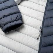 Dámská zimní bunda HI-TEC Lady Deva - ombre blue/micro chip