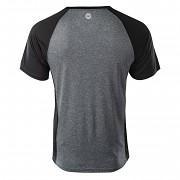 Pánské funkční triko HI-TEC Keno - black melange