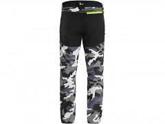 Pánské kalhoty CXS Dixon - šedá/bílá maskáč