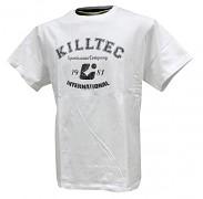 Pánské triko Killtec Reedo - ukázka trika v bílém provedení