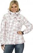 Dámská snowboardová bunda HUSKY Scate - bílá