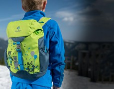 Dětský batoh DEUTER Schmusebär 8 l kiwi-arctic