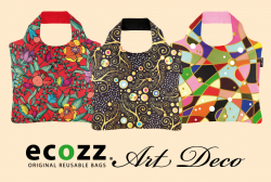 Eko nákupní taška ECOZZ Art Deco