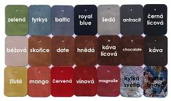 Městská obuv JANCARIK Fresie - paleta barev