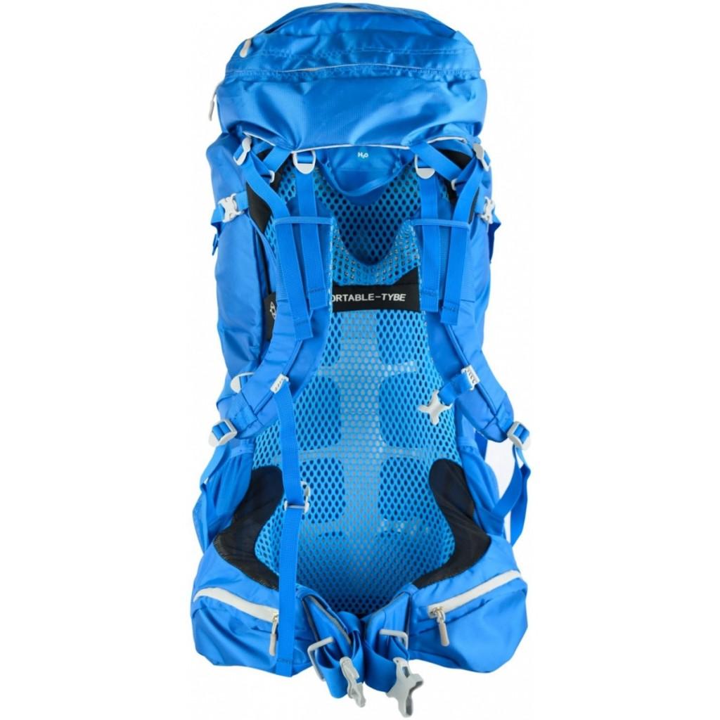 ce5a56d64b HUSKY Razor 70 l - červená Turistický expediční batoh HUSKY Razor 70 l -  ukázka zádového systému u modrého provedení