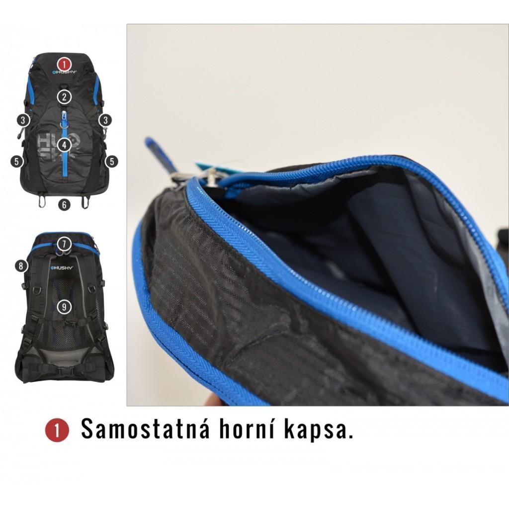 ba4772123b3 Turistický batoh HUSKY Salmon 35 l - černá   Outdoor-a-sport.cz ...