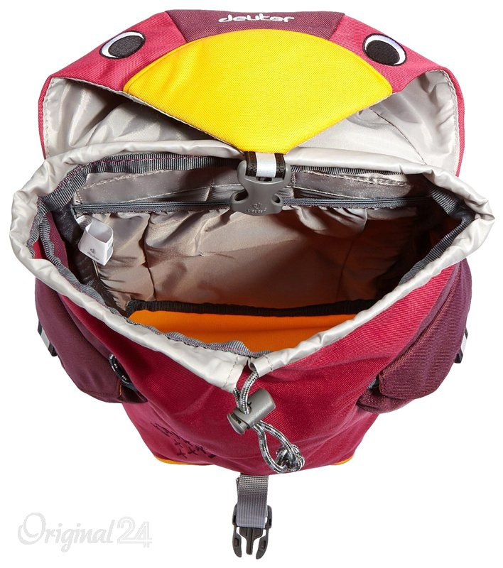 Dětský batoh DEUTER Kikki 6 l - magenta blackberry   Outdoor-a-sport ... 914cfa90b1