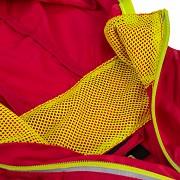 Dětská bunda KLIMATEX Guli - červená/sv. zelená