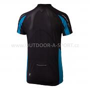 Pánský cyklistický dres KLIMATEX Noah - černá