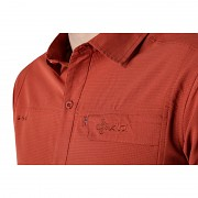 Pánská košile KILPI Bombay-M tmavě červená
