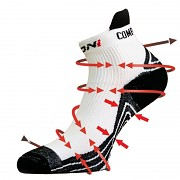 Cyklo ponožky BIZIONI BS25 001 - vel. S (34-37)