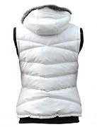 Dámská zimní vesta RVC Goula - ukázka bílého provedení
