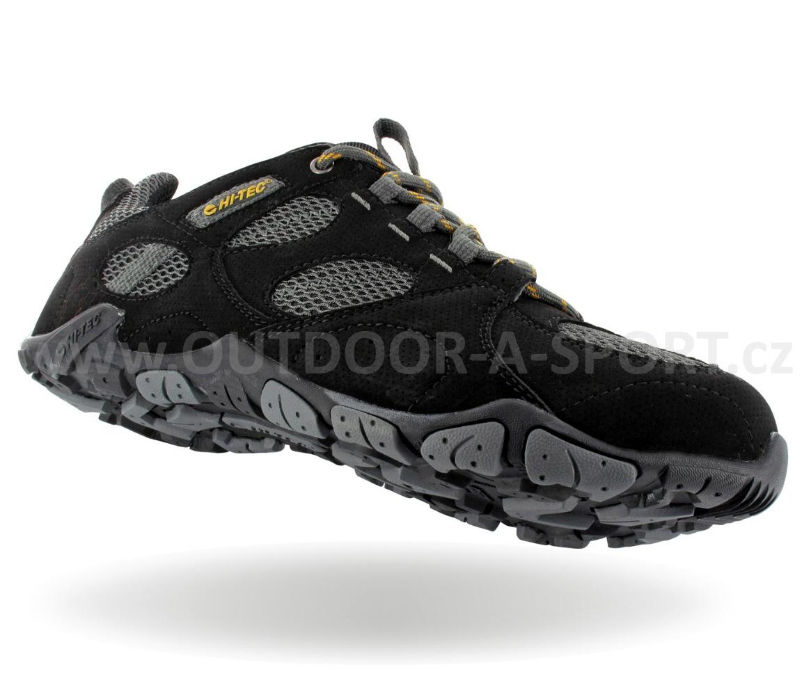 f74c73a1a86 Pánská módní obuv HI-TEC Corsair Aero - black - vel. 41   Outdoor-a ...