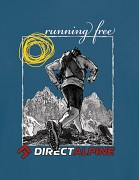 Pánské triko DIRECT ALPINE Crack 5.0 - petrol - running free