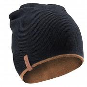 Pánská čepice ELBRUS Trend - black beauty/chipmunk