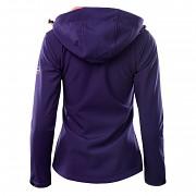 Dámská softshellová bunda HI-TEC Lady Caria II - fialová
