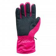 Lyžařské rukavice HI-TEC Lady Galena - sangria - vel. S/M