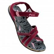 Dámské sandály ELBRUS Lavera Wo's - windsor wine/dark grey