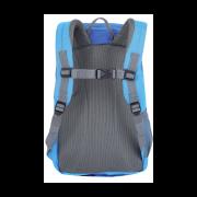 Dětský batoh HUSKY Junny 15 l - ukázka zádového systému modrého provedení