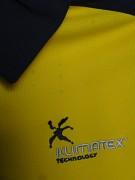 Dámská polokošile KLIMATEX Zele - žlutá
