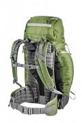 Turistický batoh FERRINO Durance 40 l - ukázka zádového systému u zeleného provedení