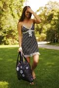 Eko nákupní taška ECOZZ Black And White 2