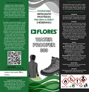 Impregnace obuvi FLORES Water Proofer 300