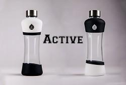 Skleněná láhev EQUA Active White 550 ml
