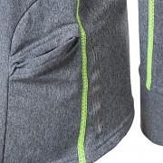 PROGRESS Falconia - šedý melír/reflexní žlutá