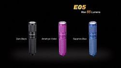 Baterka FENIX E05 XP-E2 - modrá