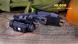 FENIX HL60R - písková