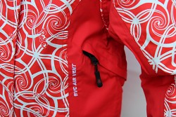 Dětská lyžařská bunda RVC Snakik - červená